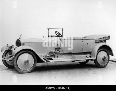 Rolls - Royce Silver Ghost Grosvenor body 1920. One of three for HH.The Nawab of Rampur. Chassis 26EE, 28EE, 36EE. - Stock Image
