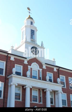 American High School Newburyport Massachusetts - Stock Image