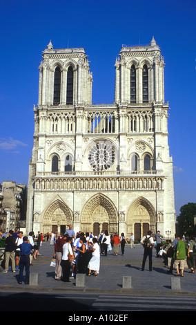 Notre Dame Paris France - Stock Image