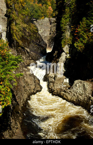 Canyon Ste Anne park river gorge - Stock Image