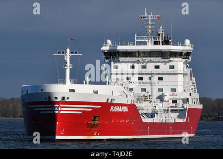 Chemical/Oil Products Tanker Ramanda - Stock Image