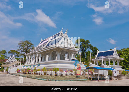 Kaew Pagoda, Wat Kaew, Krabi town, Thailand - Stock Image