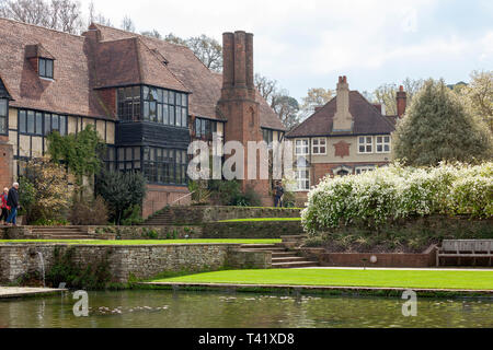 RHS Wisley main house - Stock Image