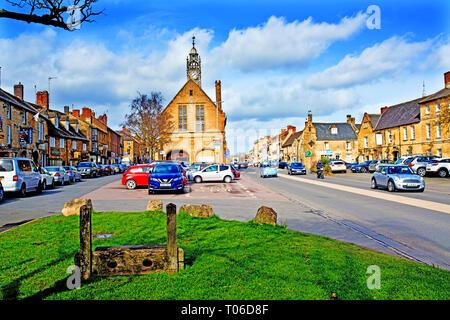 Moreton in Marsh, Cotswolds, Gloucestershire,England - Stock Image