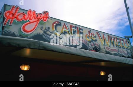 Australia New South Wales Sydney Harry s Cafe de Wheels - Stock Image