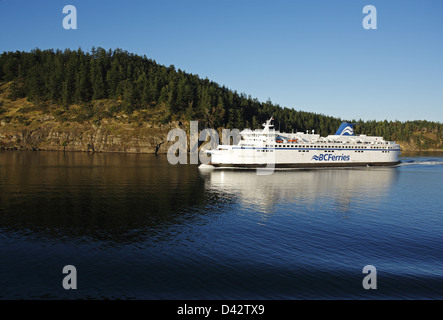 Vancouver to Nanaimo route, British Columbia Ferries, Canada - Stock Image