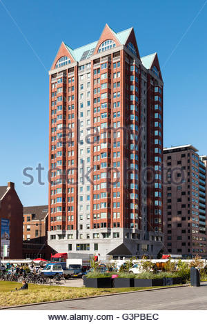 Center, Rotterdam, Holland, 2016 - Stock Image