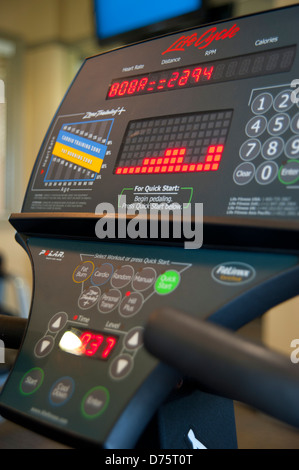 Treadmill Detail - Stock Image