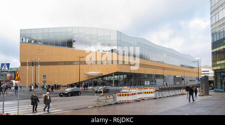 Architectural and functional innovation received with public enthusiasm. - Stock Image