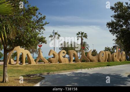La Misericordia. Málaga, Andalusia, Spain. - Stock Image