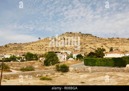 Oroklini hill, Larnaca, Cyprus October 2018 - Stock Image
