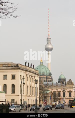 Germany, Berlin. Urban street scene. Credit as: Wendy Kaveney / Jaynes Gallery / DanitaDelimont.com - Stock Image