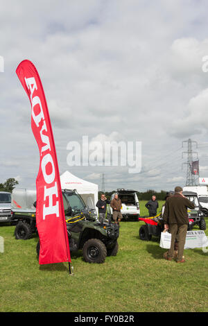 Henry Armer and  Son trade stand at the Lancashire Game and Country Fair, Scorton in 2015. - Stock Image