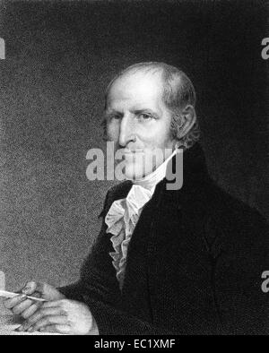 Timothy Pickering (1745-1829) on engraving from 1834. Politician from Massachusetts. - Stock Image