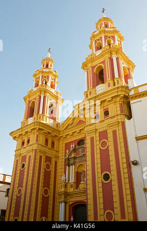 Church of San Ildefonso - Stock Image