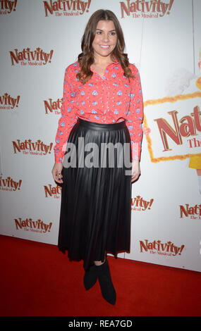 Celebrities attend 'Nativity! The Musical' Press Night held at the Hammersmith Apollo theatre  Featuring: Imogen Thomas Where: London, United Kingdom When: 20 Dec 2018 Credit: WENN.com - Stock Image