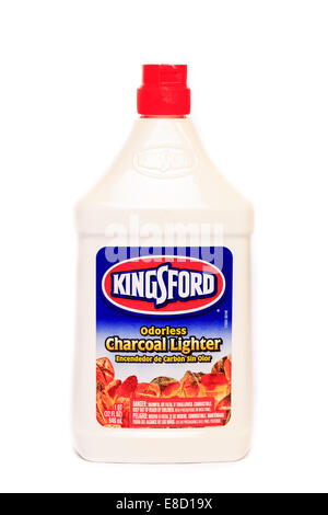 Kingsford, Odorless Charcoal Lighter Fluid - Stock Image