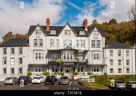 Eccles Hotel, Glengarriff, West Cork, Ireland. - Stock Image