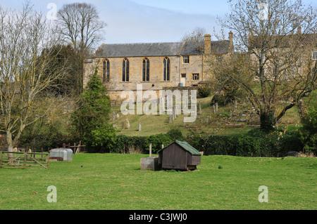 Baptist Church, Naunton, Gloucestershire - Stock Image