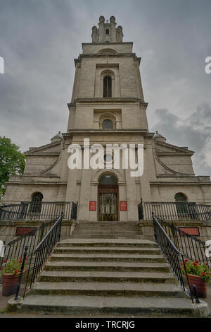 St George-in-the-East is an Anglican Church - Stock Image