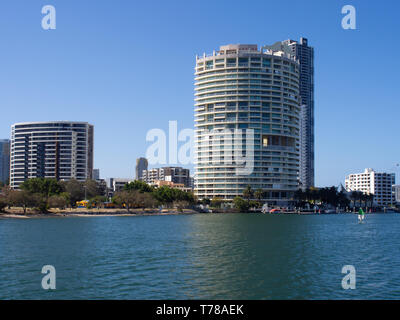 Buildings At Soutport On The Gold Coast - Stock Image