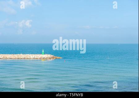 Israel, Tel Aviv - 5 April 2019: sea - Stock Image