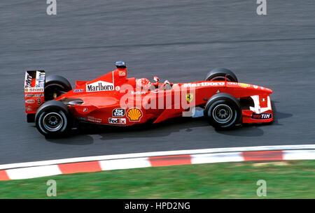 Michael Schumacher German Ferrari F1 2000 Japanese GP 1st - Stock Image