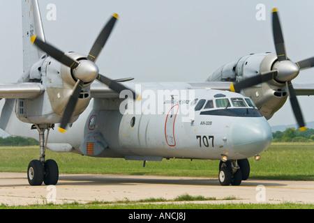 Croatian Air Force An-32B '707' transport aircraft - Stock Image