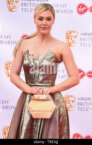 LONDON, UK. May 12, 2019: Camilla Kerslake arriving for the BAFTA TV Awards 2019 at the Royal Festival Hall, London. Picture: Steve Vas/Featureflash - Stock Image
