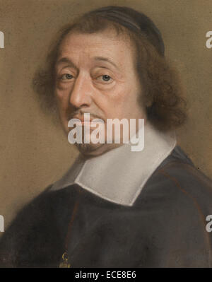 Portrait of Monseigneur Louis Doni d'Attichy, Bishop of Riez and later of Autun; Robert Nanteuil, French, 1623 - Stock Image