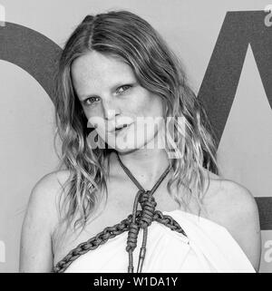 New York, NY - June 03, 2019: Hanne Gaby Odiele attends 2019 CFDA Fashion Awards at Brooklyn Museum - Stock Image