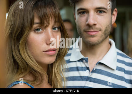 Young couple, portrait - Stock Image