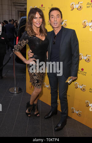 Celebs attend gala evening for Dolly Parton's 9 to 5 The Musical  Featuring: Lizzie Cundy, Bruno Tonioli Where: London, United Kingdom When: 17 Feb 2019 Credit: Phil Lewis/WENN.com - Stock Image