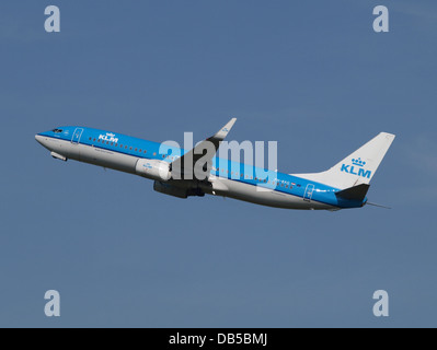 PH-BXG KLM Royal Dutch Airlines Boeing 737-8K2(WL) - cn 30357 2 - Stock Image