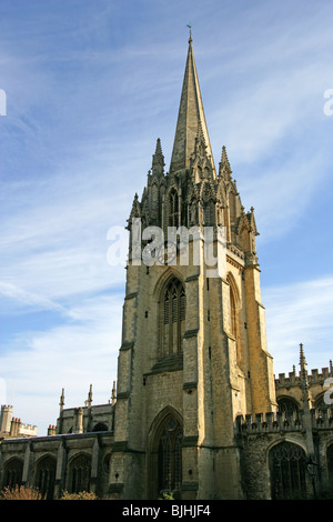 St Mary's Church, Oxford, Oxfordshire, England, UK - Stock Image