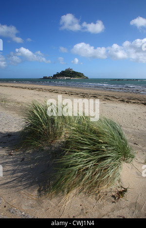 St. Michael's Mount in Cornwall - Stock Image