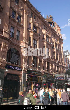 The Hippodrome Casino Leicester Square London - Stock Image