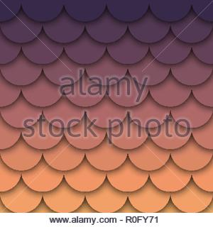 Colorful abstract background. Vector illustration with color degrade effect - Stock Image