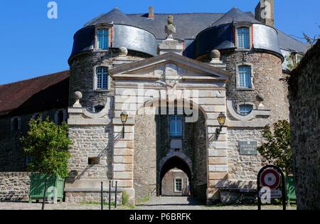 France, Hauts de France, Pas de Calais department (62), Boulogne sur Mer, castle and museum - Stock Image