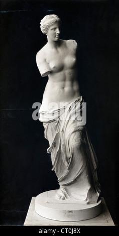 The Venus de Milo, statue of Aphrodite, by Alexandros of Antioch - Stock Image