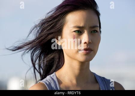 THE GIFTED, JAMIE CHUNG, 2017 - Stock Image