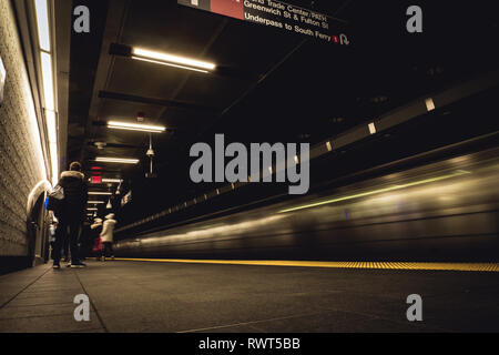 New York subway - Stock Image