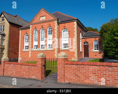 Quaker meeting house building, Temple Street Llandrindod Wells, Powys Wales UK. - Stock Image