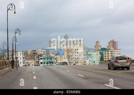 Cuba, Havana. City view on cloudy day. Credit as: Wendy Kaveney / Jaynes Gallery / DanitaDelimont.com - Stock Image