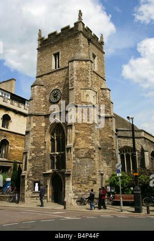 St Botolph's Parish Church, Cambridge, Cambridgeshire, UK - Stock Image