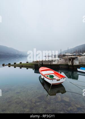 Remains of underwater in tunnel Bakar in Croatia - Stock Image