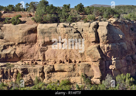 Mummy House, Sun Point View, Mesa Verde, Colorado, USA 180928_74545 - Stock Image