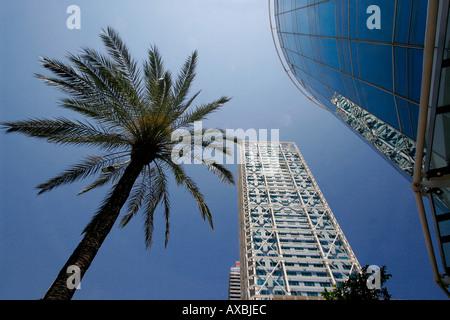 ESP Spain Barcelona Barceloneta Barcelona Hotel des Arts - Stock Image