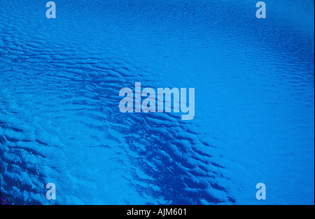 Blue water - Stock Image