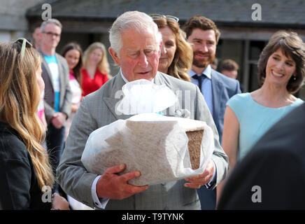 The Prince of Wales visits the Cool Planet Experience in Enniskerry, Co Wicklow, on the first day of the Royal visit to Ireland. - Stock Image